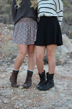 skirts  like sisters