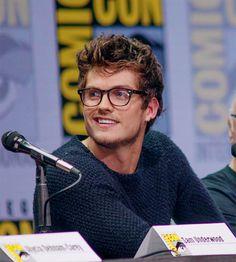 "celebritiesandmovies: ""Daniel Sharman | FTWD panel San Diego Comic-Con 2017 """