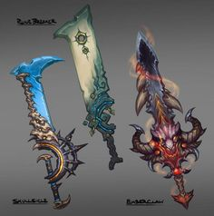Image result for darksiders weapon concept