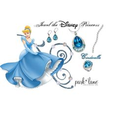 Cinderella by corkstu on Polyvore featuring Waterford and Disney