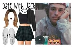 Date with Jack Dail by luni-salazar on Polyvore featuring polyvore fashion style rag & bone Topshop Forever 21 Wet Seal adidas Nike Golf Casetify Lime Crime clothing