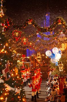 Disney World in December. Can't decide if I wanna go during the month of October or December..