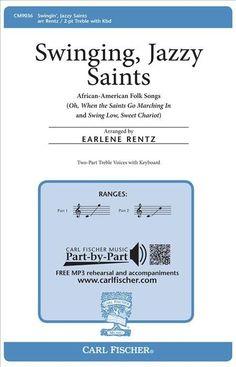 """Swinging, Jazzy Saints"" (Octavo)"