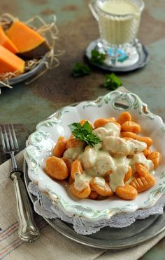 Vegetarian Recipes, Cooking Recipes, Healthy Recipes, Hungarian Recipes, Gnocchi, Recipies, Food Porn, Food And Drink, Favorite Recipes