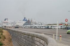 May 2014. Nice place to be. The harbour of Calais (France)