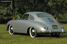 1953 Porsche 356 Coupe, Back side