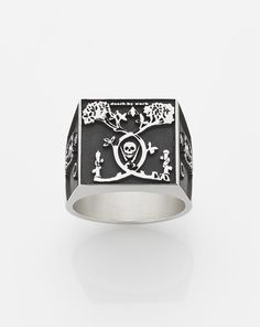 """Meadowlark x Andrew Mcleod  """"Death by Work"""" ring"""