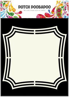 470.713.143 Dutch Doobadoo Shape Art