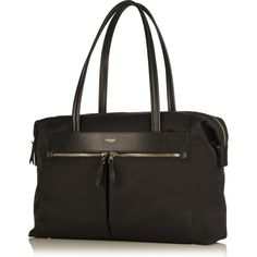 The gorgeous Curzon laptop tote from Knomo