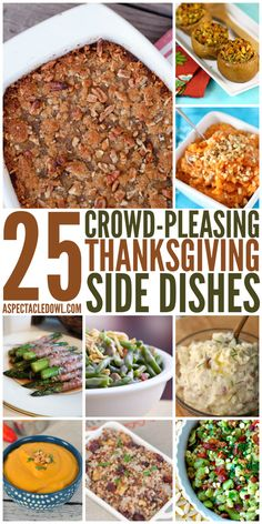 25 Crowd-Pleasing Thanksgiving Side Dishes - A Spectacled Owl