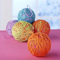 Woollen Baubles | Craft Ideas & Inspirational Projects | Hobbycraft