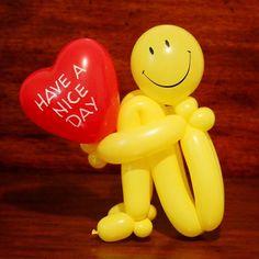 Balloon Crafts, Balloon Gift, Balloon Centerpieces, Balloon Decorations Party, Baby Shower Balloons, Birthday Balloons, Easy Balloon Animals, Balloons Galore, Custom Balloons