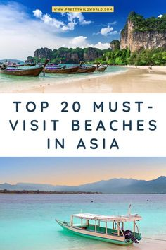 Beaches in Asia | Looking for the best beach in asia, asia beach destinations, asia travel, visit asia, asia vacation, asia travel tips, or asia travel bucket list? Read this post now or pin it for later read! #asia #traveldestination #traveltips #bucketlisttravel #amazingdestinations #travelideas #traveltheworld #travelguides via @prettywildworld
