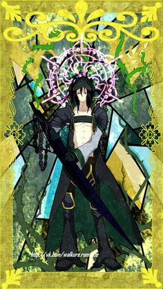 Goldov. Anime: rokka no yuusha.