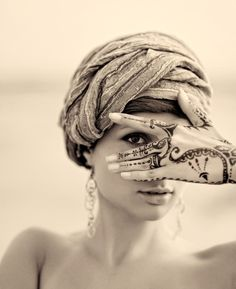henna and turbans