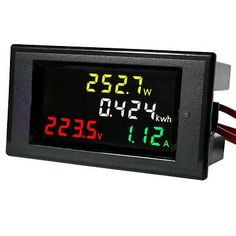 Professional DC 0-30V Analog Volt Voltage Panel Meter Voltmeter Gauge with Class 2.5 Accuracy Portable and Practical