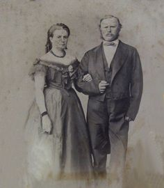Leopold II Grand Duke of Tuscany (1797 – 1870) and his second wife Princess Maria Antonia of the Two Sicilies
