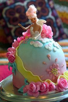 When I was little, my cousins had bdays cakes like this & I was always so jealous, says the girl who wore a crown on Sundays & made the boys act out plays in costume.