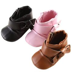 Baby soft sole ankle boots for girls and boys $5.79 from Aliexpress