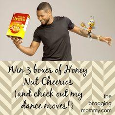 Check out our #Cheerios Dance Moves! @BuzzTheBee & Win Cheerios!