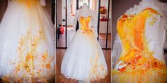 Submission to 'Dip Dye Wedding Dress Trend Will Make Your Big Day More Colorful'
