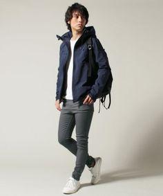 【20代大学生男性の服装とブランド】秋のメンズカジュアルファッションコーデ
