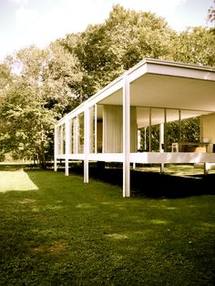 Farnsworth House on my trip to Chicago