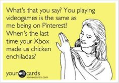 They may never understand how much Pintrest has changed their life. :)