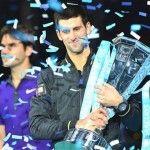 Master ATP: Djokovic supera Federer e conquista Londra! http://www.palledicuoio.com/wordpress/master-atp-djokovic-supera-federer-e-conquista-londra/