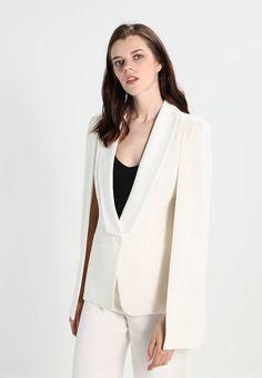 Lavish Alice Żakiet - white za 489 zł zamów bezpłatnie na Zalando. Lavish Alice, Fabric Material, Rompers, Style Inspiration, Bride, Suits, Chic, Formal, Women's Blazers