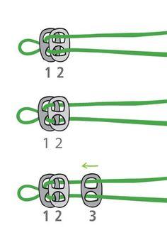How to start a type of pop tab bracelets