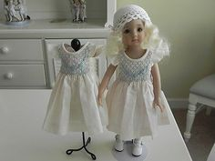 BONEKA-SMOCKED-DRESS-FOR-EFFNER-LITTLE-DARLING-NEW