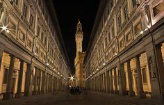 The Uffizi (Florence, Italy)