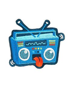 Rock Out Boombox Patch – Strange Ways