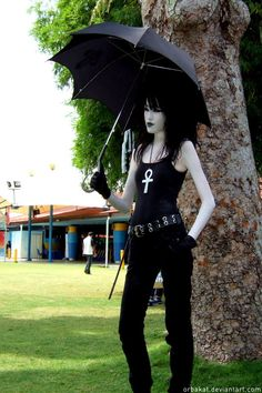 """Death cosplay - """"The High Cost of Living"""" by *orbakat on deviantART - Neil Gaiman character from Sandman / The Endless"""