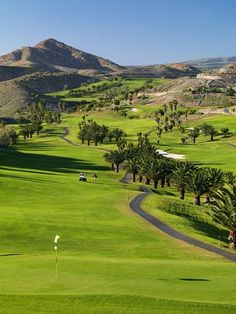 Salobre golf course, Gran Canaria, Spain http://www.travelandtransitions.com/destinations/destination-advice/europe/outdoor-adventure-gran-canaria/