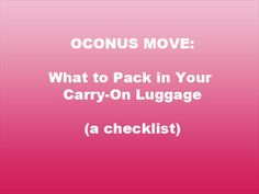 A comprehensive list, including a printable checklist! Just what I needed for my first OCONUS move