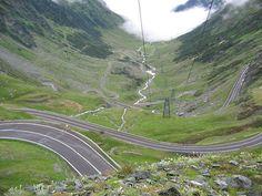 Dream road in Romania