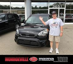 Thank you to Rex Waugan on the 2013 Kia Soul from Andy Milner and everyone at Monroeville Kia Mazda!