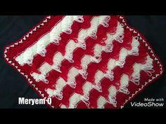 Çapraz şeritli püsküllü lif modelinin yapılışı - YouTube