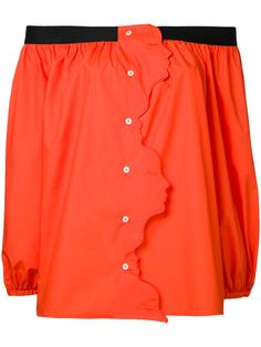 VIVETTA Schulterfreie Bluse. #vivetta #cloth #bluse