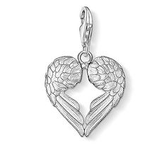 Thomas Sabo Women-Charm Pendant Wings Charm Club 925 Sterling Silver 0613-001-12  #affiliated