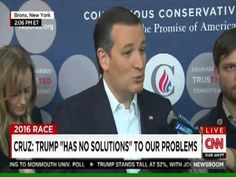 WATCH: Ted Cruz just gave his first post-Wisconsin presser, also RESPOND...