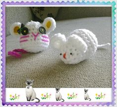 Ratones de crochet
