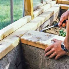 Build A Greenhouse, Green Rooms, Plank, Homesteading, Pergola, Sweet Home, Shed, Building, Gardens