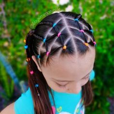 Cute Hairstyles For Kids, Baby Girl Hairstyles, Cool Braid Hairstyles, Princess Hairstyles, Up Hairstyles, Cool Braids, Braids For Long Hair, Girl Hair Dos, Natural Hair Styles