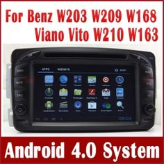 Android Car PC Car DVD Player for Mercedes Benz C Class W203 with GPS Navigation Stereo Bluetooth Radio TV 3G WIFI