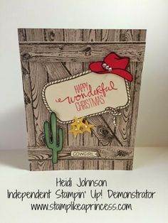 Yee-Haw Christmas Stampin' Up!