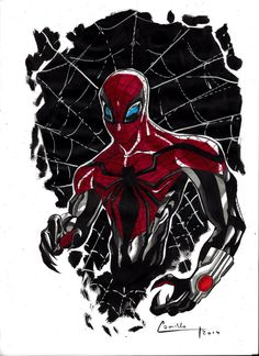 #Superior #Spiderman #Fan #Art. (Superior spidey) By: Camillo1988. (THE * 5 * STÅR * ÅWARD * OF: * AW YEAH, IT'S MAJOR ÅWESOMENESS!!!™)[THANK Ü 4 PINNING!!!<·><]<©>ÅÅÅ+(OB4E)