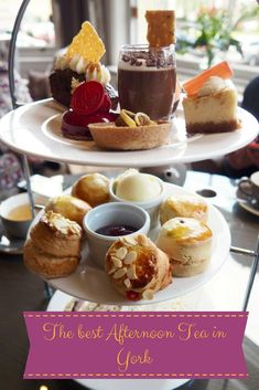 Where to go for a traditional British afternoon tea in York, England. Find the best spots on a food and drink tour of the historic city.
